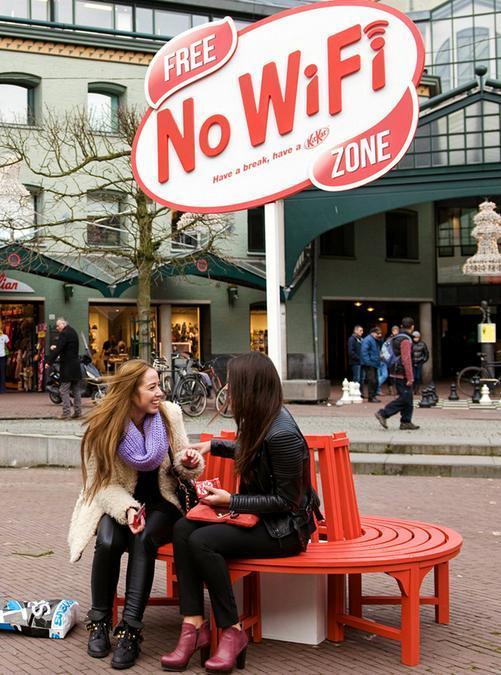 オランダの「No Wi-Fi スポット」