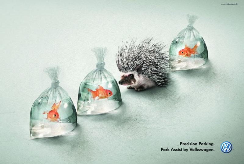 アイデアが面白いフォルクスワーゲンの広告(ドイツ)