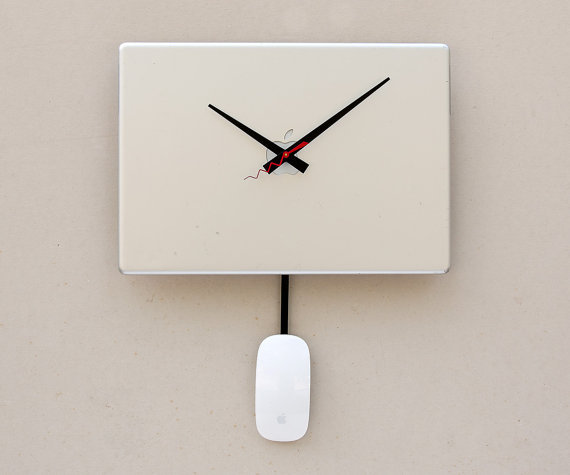 リサイクル時計
