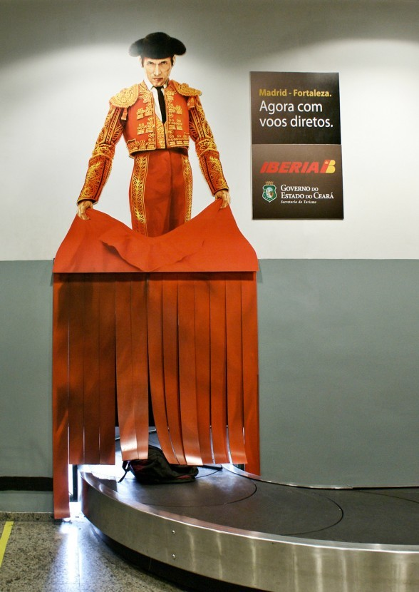 スペインの航空会社が手掛けた広告
