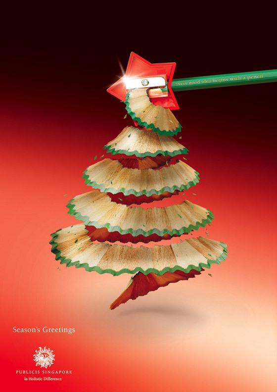 いろんな工夫が面白い!海外のクリスマス広告